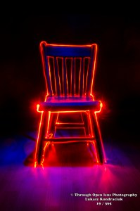 light up chair